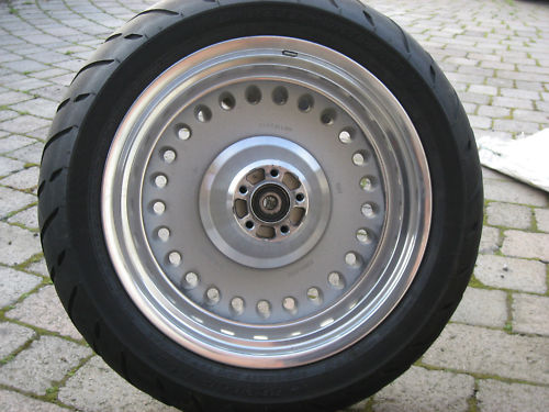 Used Harley Davidson Wheels >> Harley Davidson Rear Wheel 07 Fat Boy 200 Tyre Used