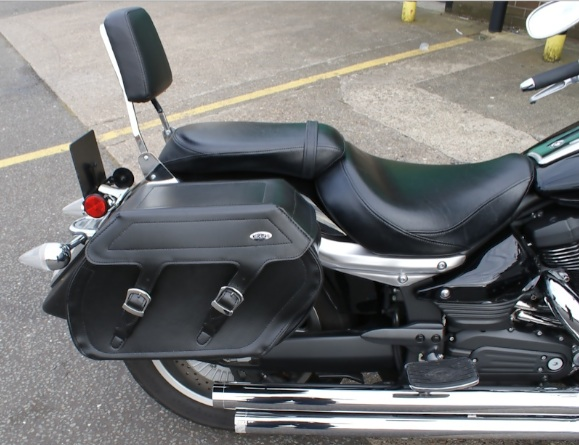Suzuki VL800 C50 C800 Saddlebags Panniers & Supports
