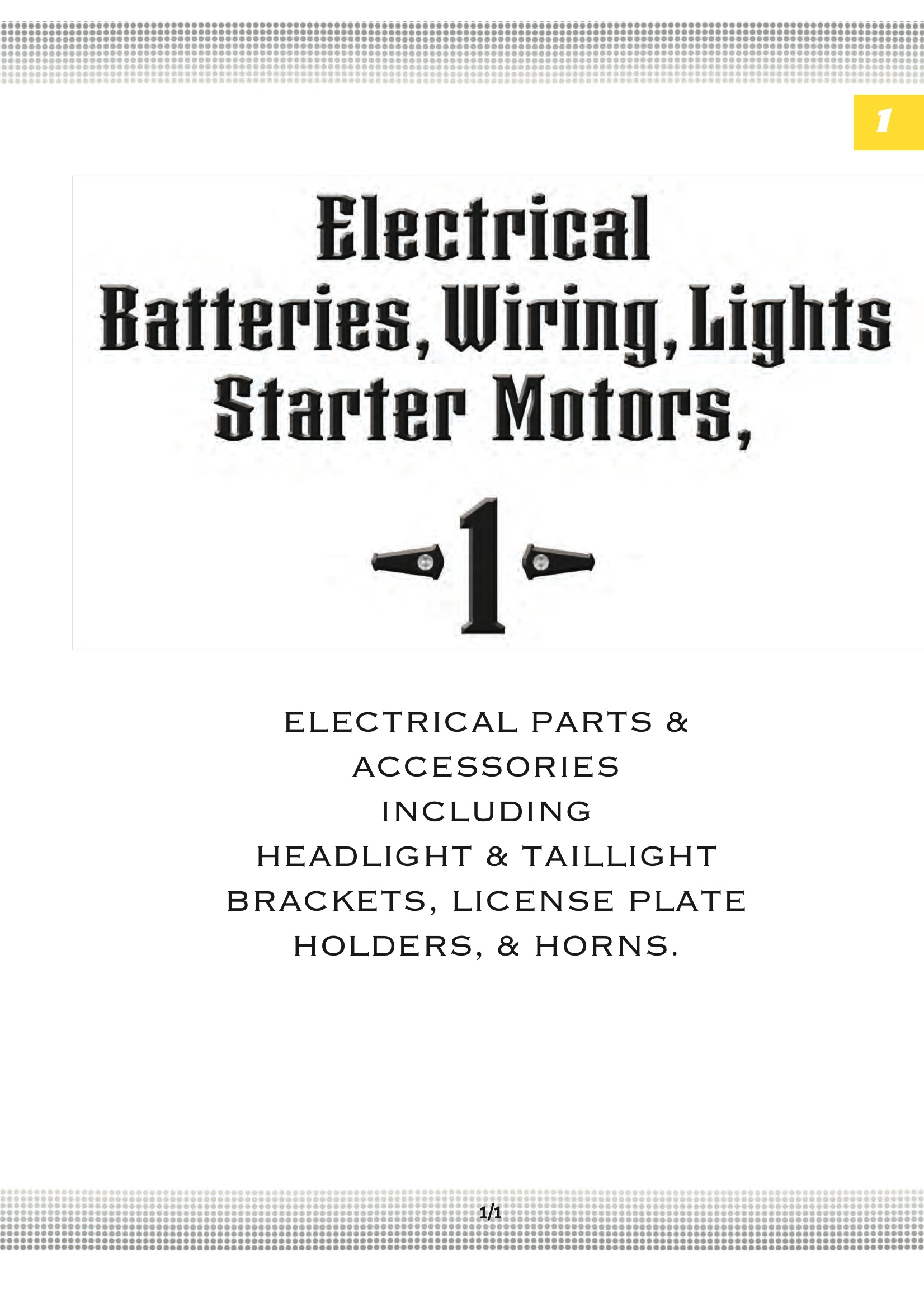 Ultima STARTER/HEADLIGHT RELAY;FOR 18-530 Midwest 18-535 on