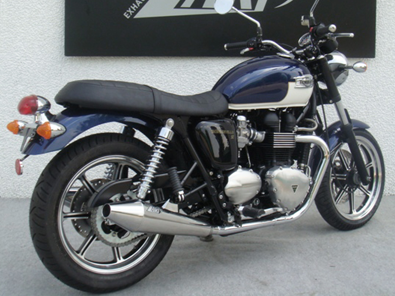 Steel Wheels For Sale >> Triumph Bonneville Exhaust & Mufflers