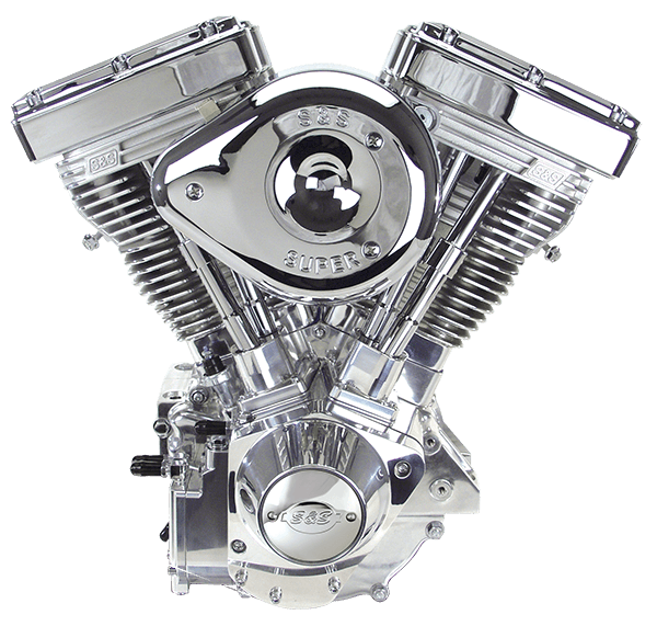 Harley Davidson 84-99 Carb Replacement Evolution Engine TUV Approved From  S&S Cycles With Wrinkle Black Finish