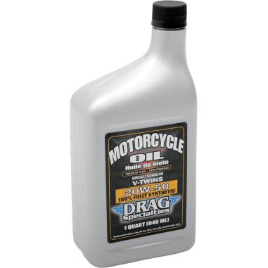 Harley Davidson Drag Specialties Engine Oil V Twin 20w 50