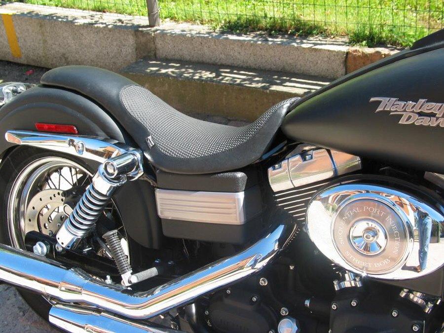 Harley Davidson Dyna Glide Seat Granucci Gel Seat Hale Bop