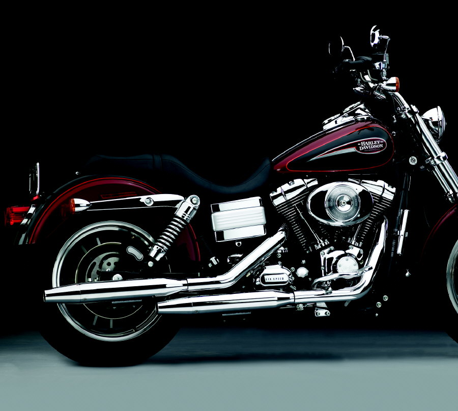 Harley Davidson Dyna Series- Peacemaker Exhaust Tapered