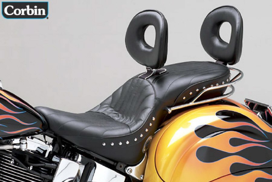 Leather Harley Touring Seats