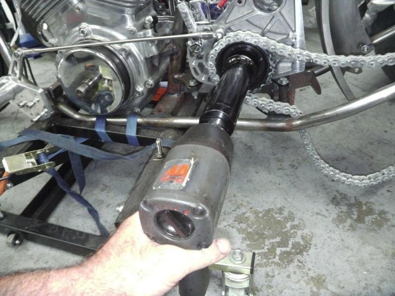 Big Dog gearbox Transmission shaft nut tool
