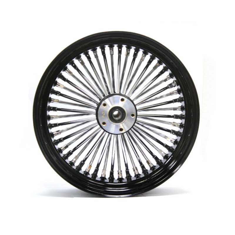 Used Harley Davidson Wheels >> Harley Davidson 23x3 5 Wheel Ultima King Spoke Fat Spoke Front Wheel In Black Chrome