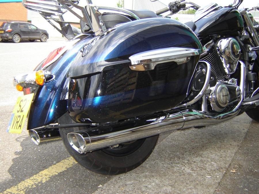 Kawasaki Nomad Exhaust