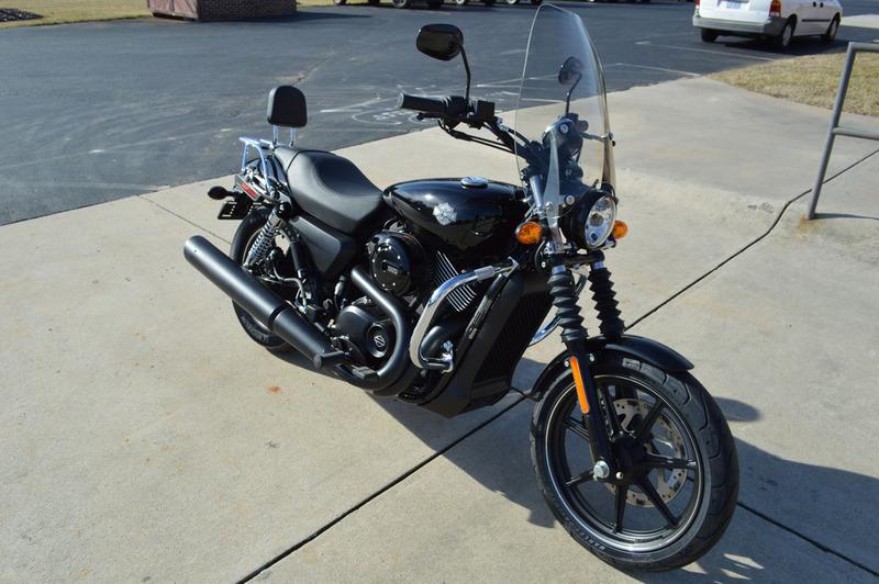 Harley Davidson Windshields >> Harley Davidson Street Xg500 Streetshield Windshield U Clamp Mount