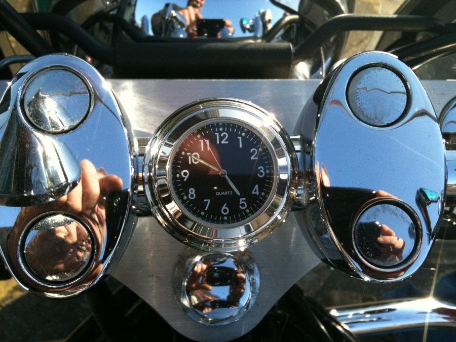 clocks for motorcycles handlebars