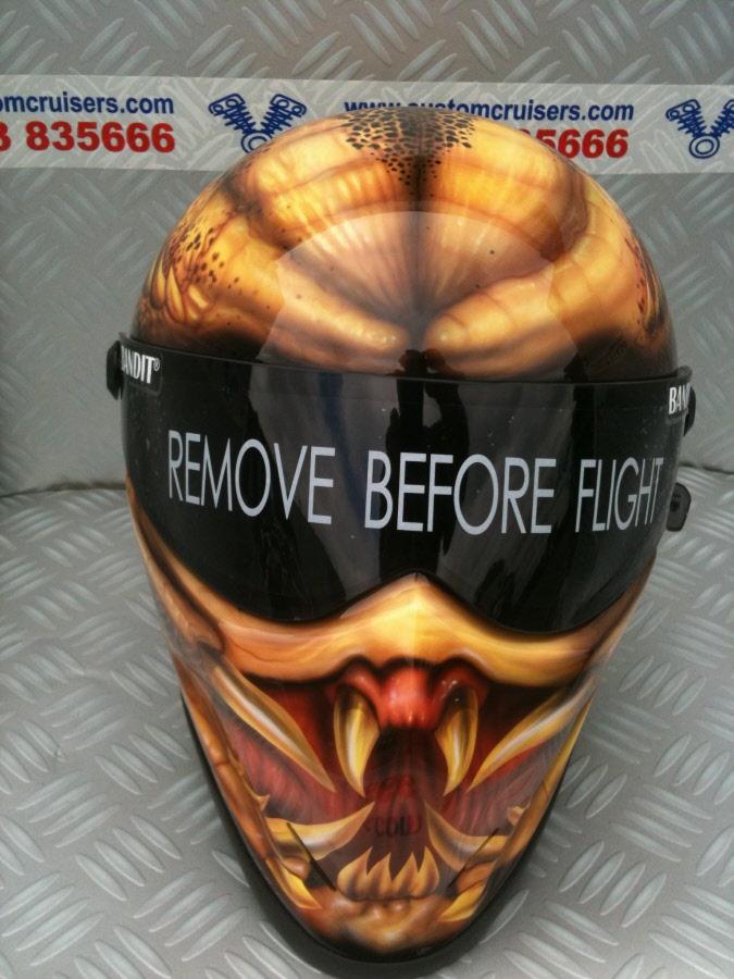 Bandit Crystal Helmet Diamondback Style Stig Helmet