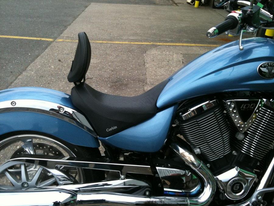 Ultimate Motorcycle Seats >> Victory Vegas Solo Seat by Corbin USA | COR_VIC_HS_VEG