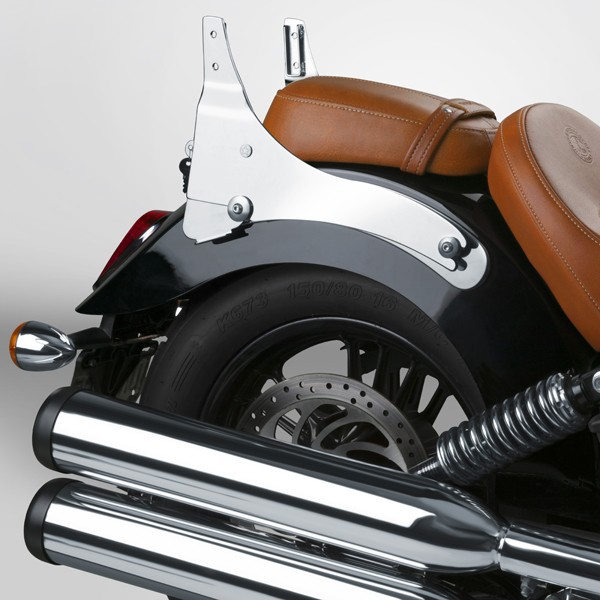Custom Indian Motorcycle For Sale >> Indian Scout Backrest and Sissy-bar