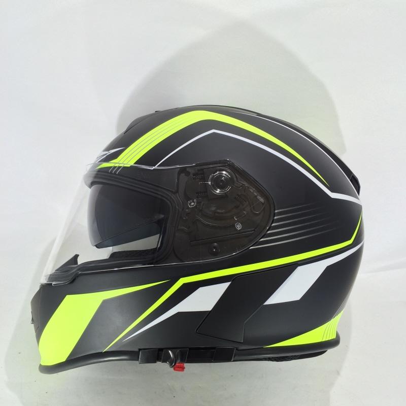 Viper Motorcycle Helmet Full Face Integral Sun Visor Stereo Speakers ...