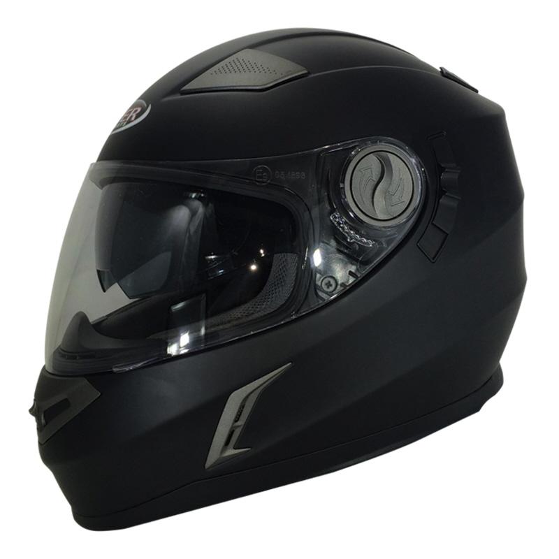 a2eb7c5f Viper Motorcycle Helmet Full Face Integral Sun Visor Racer Style ...