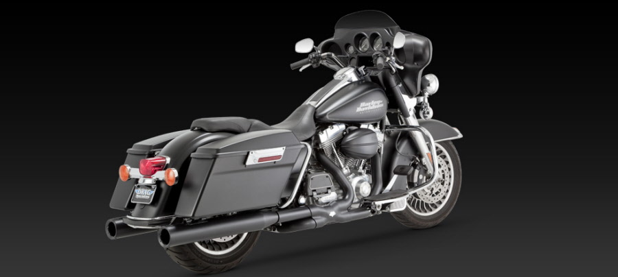 Harley Davidson Motorcycle Exhausts
