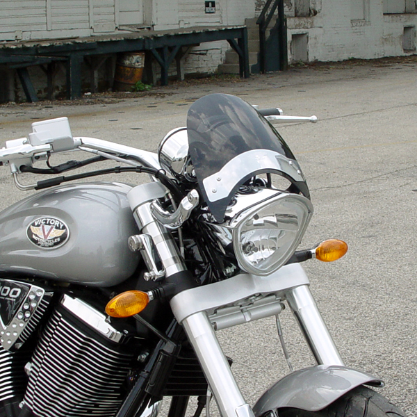 Front Windshield Tint >> Victory Windshield National Cycle Fly Screen Darkt Tint ...