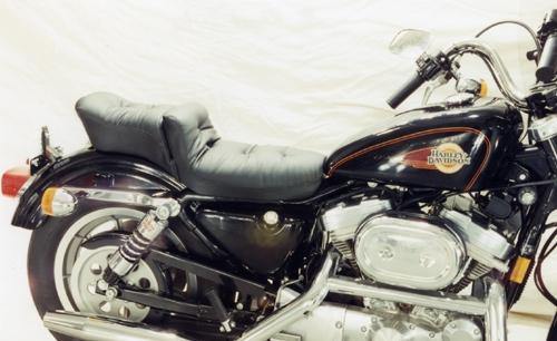 Mustang Seat Harley Davidson Sportster - Regal Duke Seat