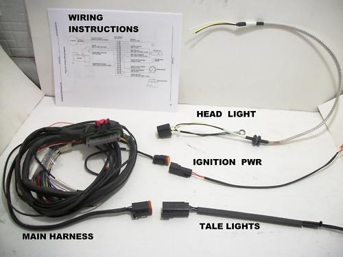 New American Iron Horse Wiring Loom Harness 2005