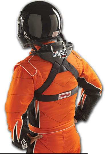Drag Racing Helmets >> Simpson Hybrid Pro Rage Head and Neck Restraint HANS Device PR