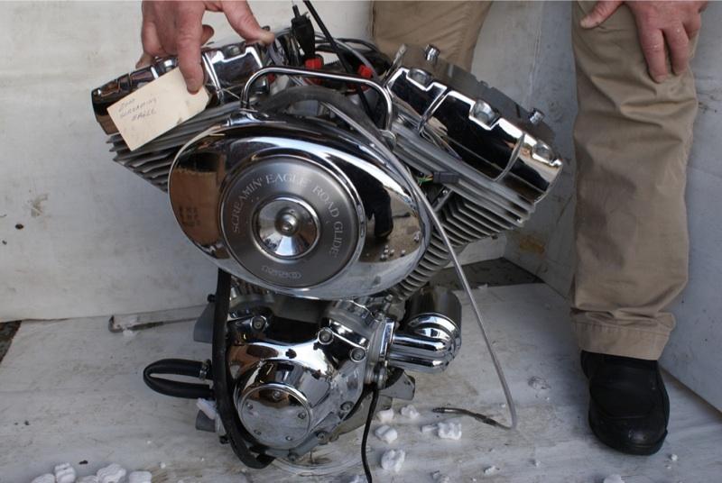 Harley Davidson Motor 1550 screaming eagle motor ...