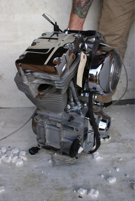 Harley Davidson Motor 1550 Screaming Eagle Motor