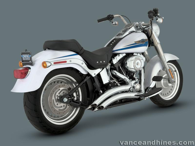 Harley Davidson SOFTAIL 86- Up BIG RADIUS 2-2 Vance and Hines Cat No