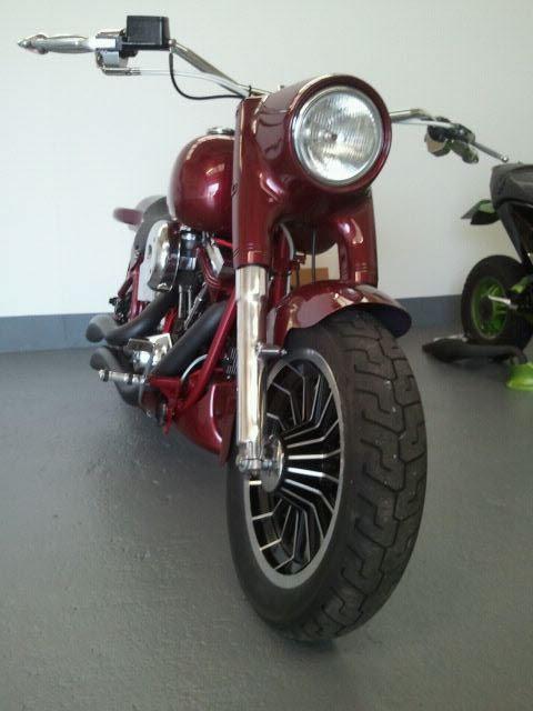 Harley Davidson 1990 Motorbike Custom Fatboy Custom Motorcycle