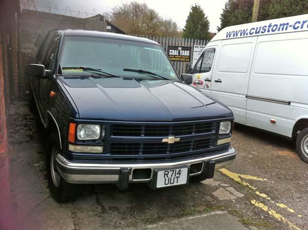 Chevrolet 3500 Diesel Crewcab Pick Up Truck Sale