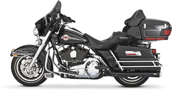 Harley Davidson Dresser 95 Up Rsd Tracker Slip Ons Vance And Hines Cat No