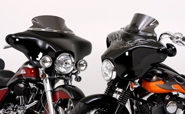 Harley Davidson Street Glide Batwing And V Stream Flare