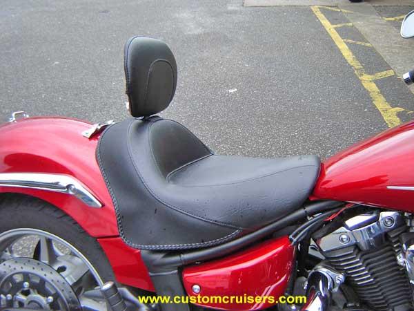 Motorcycle Helmets For Sale >> Yamaha XVS1300 Deluxe Seat Saddle Mustang Corbin Midnight Star
