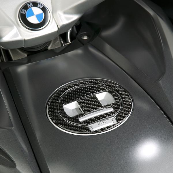 BMW K1600GT / K1600GTL 2011 & Up Fuel Cap Trim, Carbon Fibre